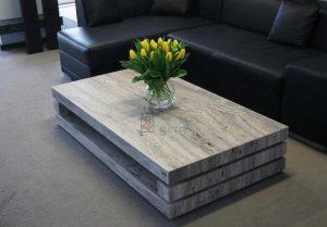 stol z kamienia